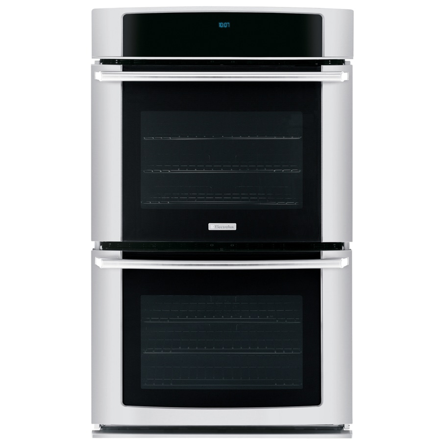 Electrolux Self-Cleaning Convection Double Electric Wall Oven (Stainless) (Common: 30-in; Actual 30-in)