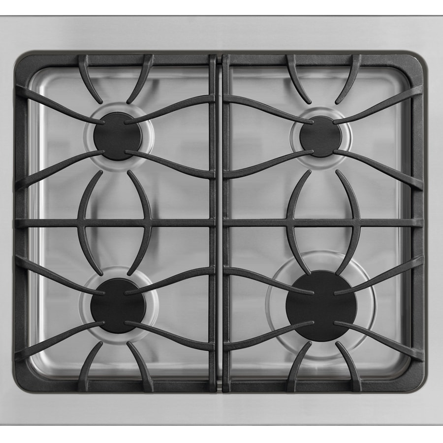 Frigidaire Gallery 4-Burner Gas Cooktop (Stainless) (Common: 30-in; Actual 30-in)