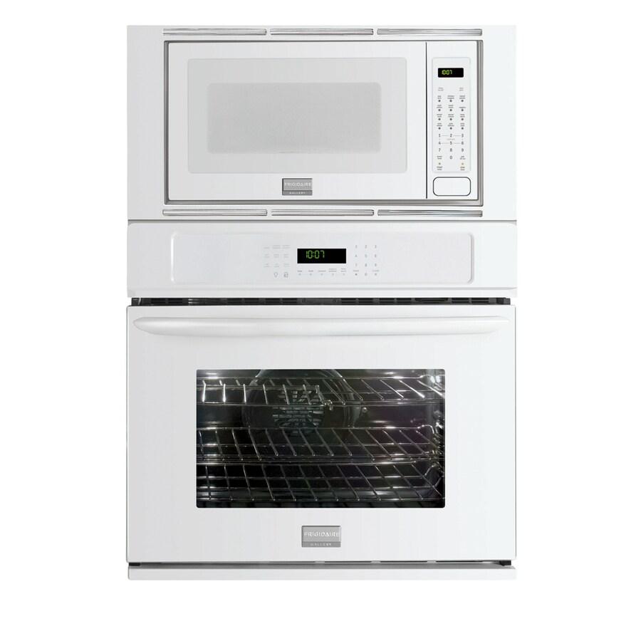Frigidaire Gallery 27-in Self-Cleaning Microwave Wall Oven Combo (White)