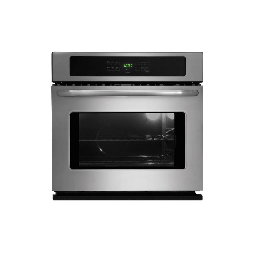 Frigidaire 30-in Self-Cleaning Single Electric Wall Oven (Stainless)