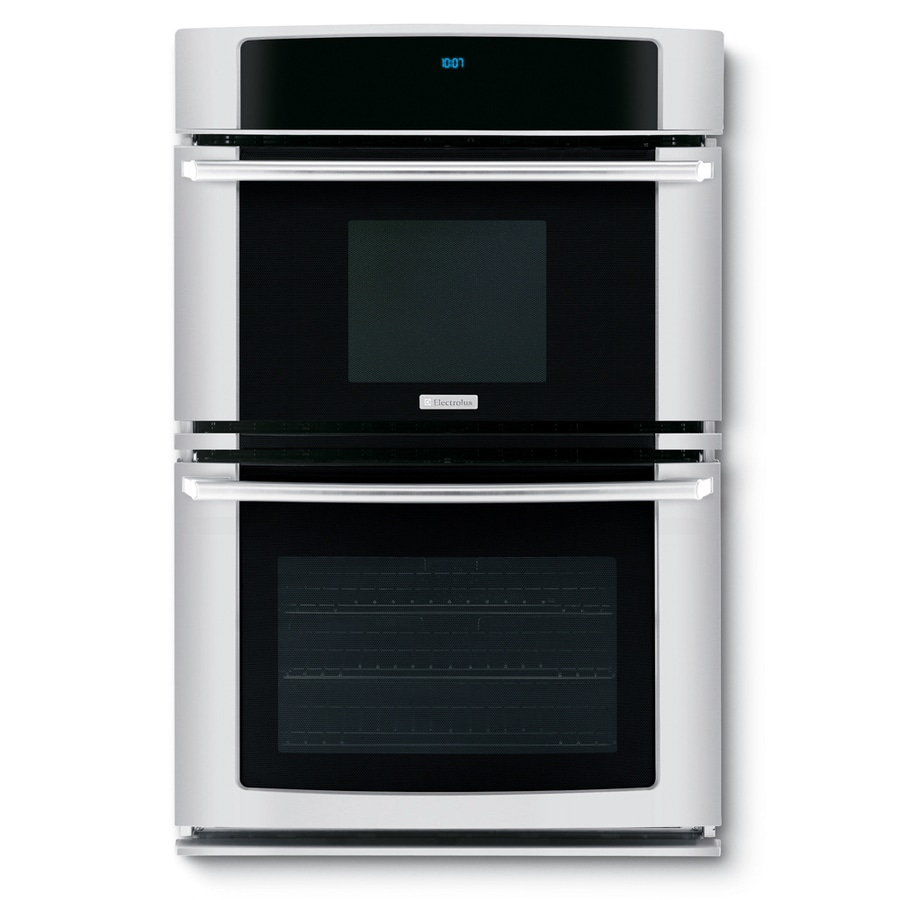 Electrolux Self-Cleaning Microwave Wall Oven Combo (Stainless) (Common: 27-in; Actual 27-in)