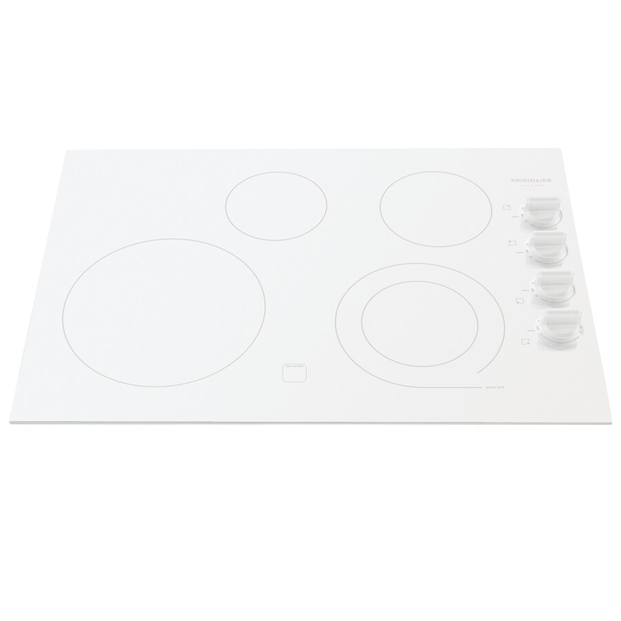 Frigidaire Gallery Smooth Surface Electric Cooktop (White) (Common: 30-in; Actual 30.38-in)