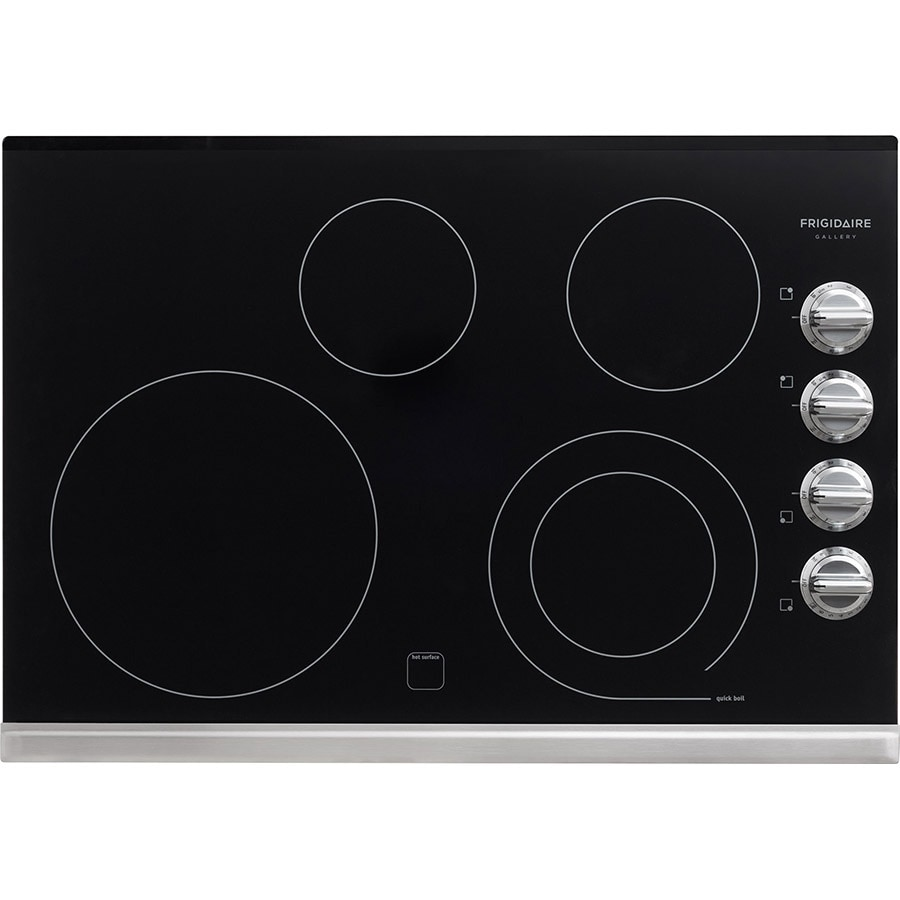 Frigidaire Gallery Smooth Surface Electric Cooktop (Stainless Steel) (Common: 30-in; Actual 30.375-in)