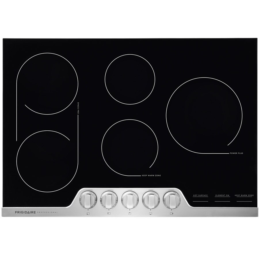 Frigidaire Professional 6-Element Smooth Surface Electric Cooktop (Stainless Steel) (Common: 30-in; Actual 30.375-in)