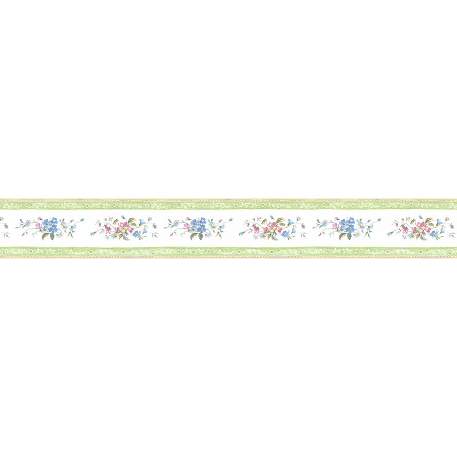Shop Norwall 4.25-in Prepasted Wallpaper Border at Lowes.com
