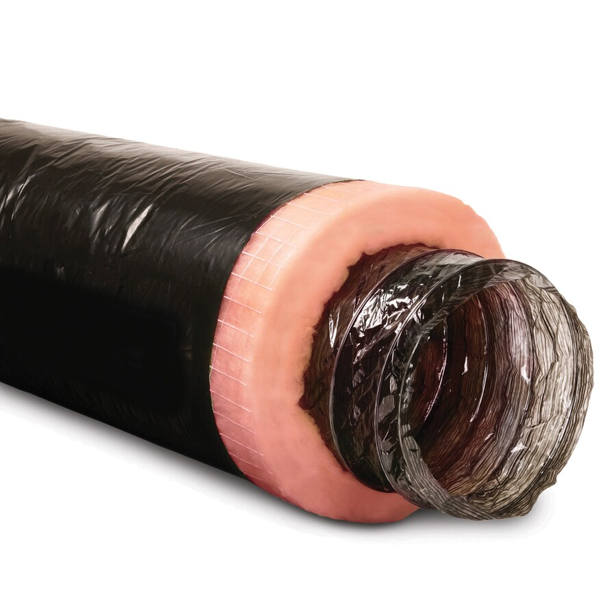 IMPERIAL 4-in x 25-ft Insulated Polyester Flexible Duct