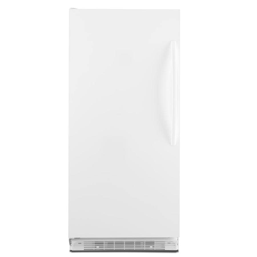 Whirlpool 17.7-cu ft Upright Freezer (White) ENERGY STAR