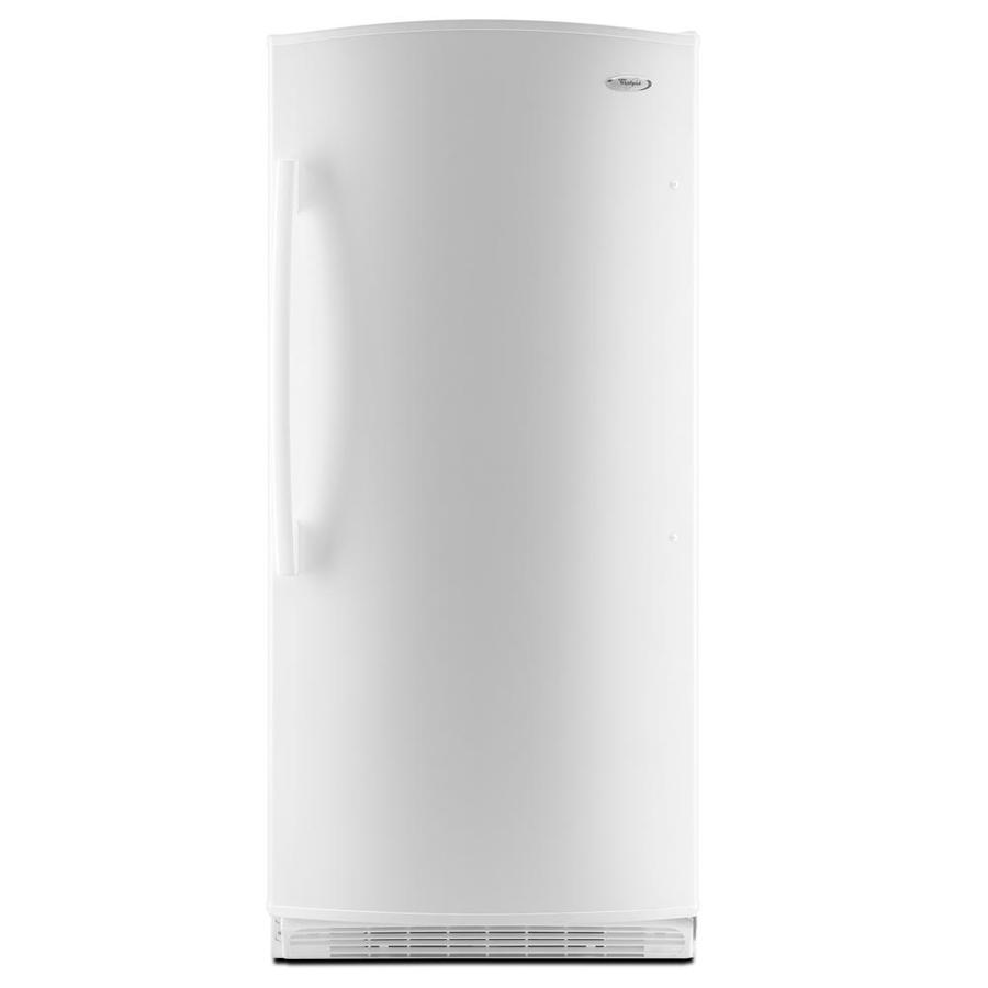 Whirlpool 17.8 cu ft Upright Freezer (White) ENERGY STAR