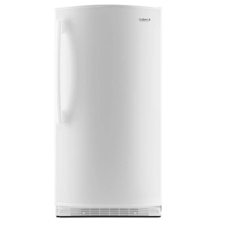 Whirlpool 16 cu ft Upright Freezer (White) ENERGY STAR
