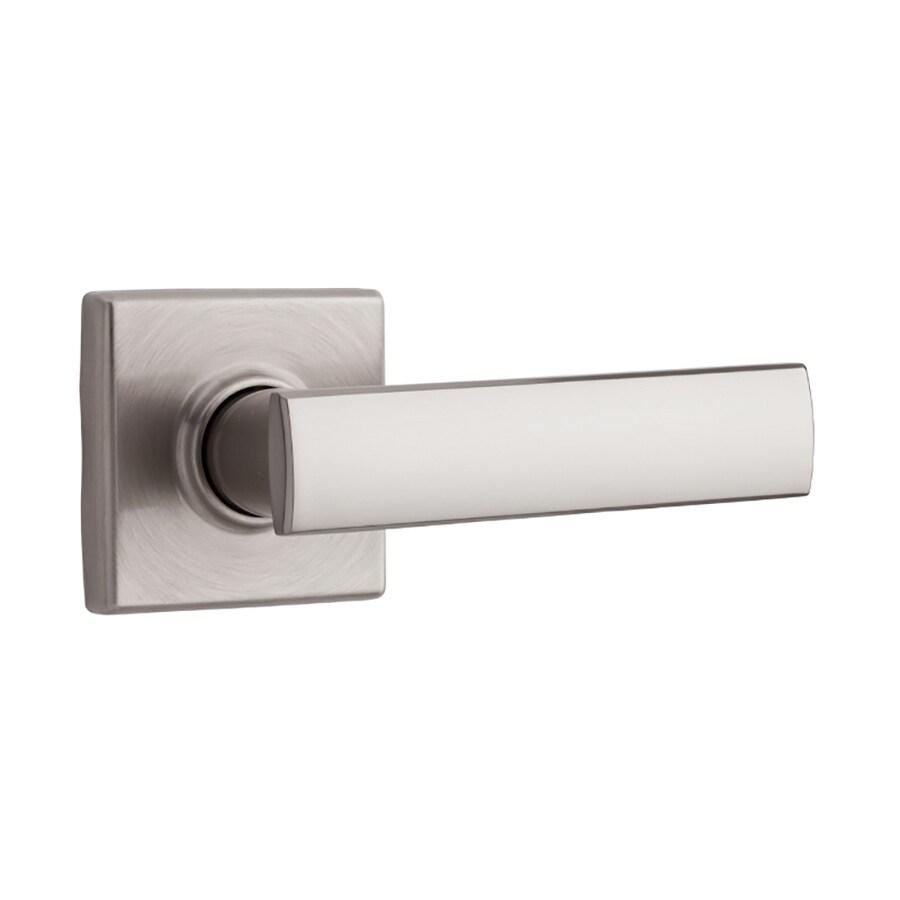Kwikset Signature Vedani Satin Nickel-Handed Passage Door Lever