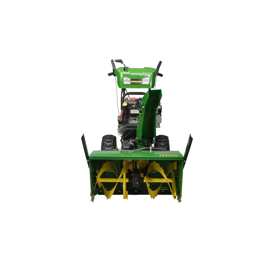 John Deere 342-cc 30-in 2-Stage Electric Start Gas Snow Blower with Heated Handles and Headlight