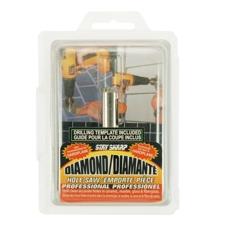 Exchange-A-Blade 1/2-in Diamond Non-Arbored Hole Saw