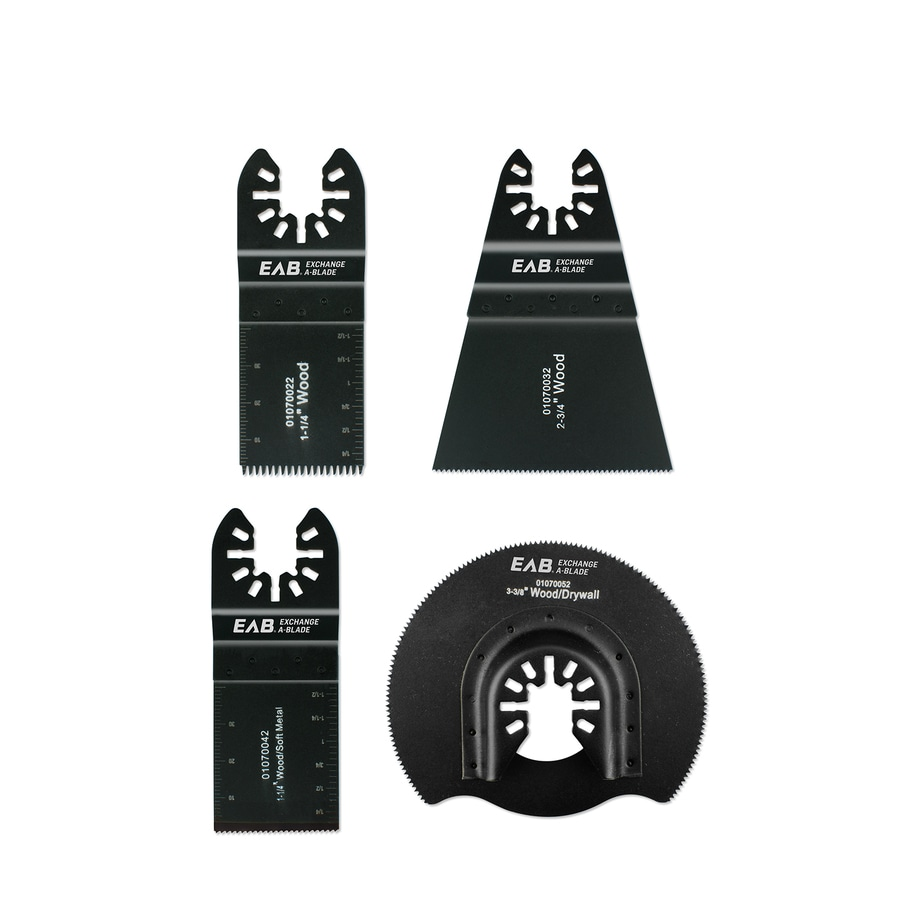 Exchange-A-Blade Oscillating Universal Fit Assorted Blade Set