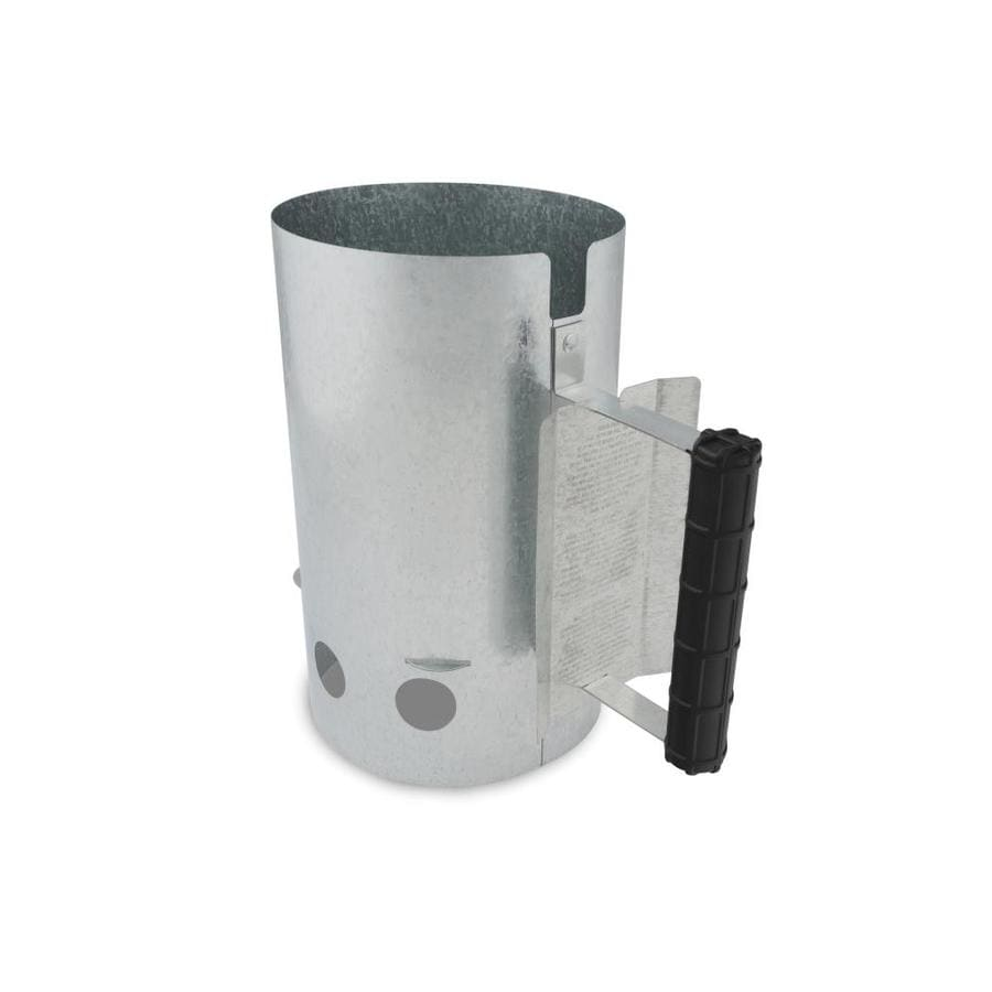 GrillPro 6.5-in x 11.02-in Zinc Charcoal Chimney