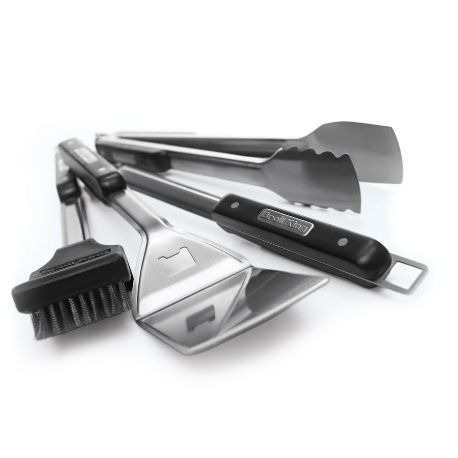 Broil King 4-Piece Stainless Steel Grilling Tool Set