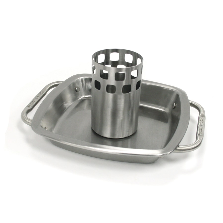 Broil King Stainless Steel Beer Can Chicken Rack