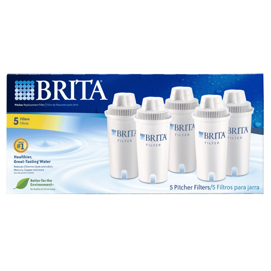 Brita 5-Pack Pitcher Replacement Water Filter