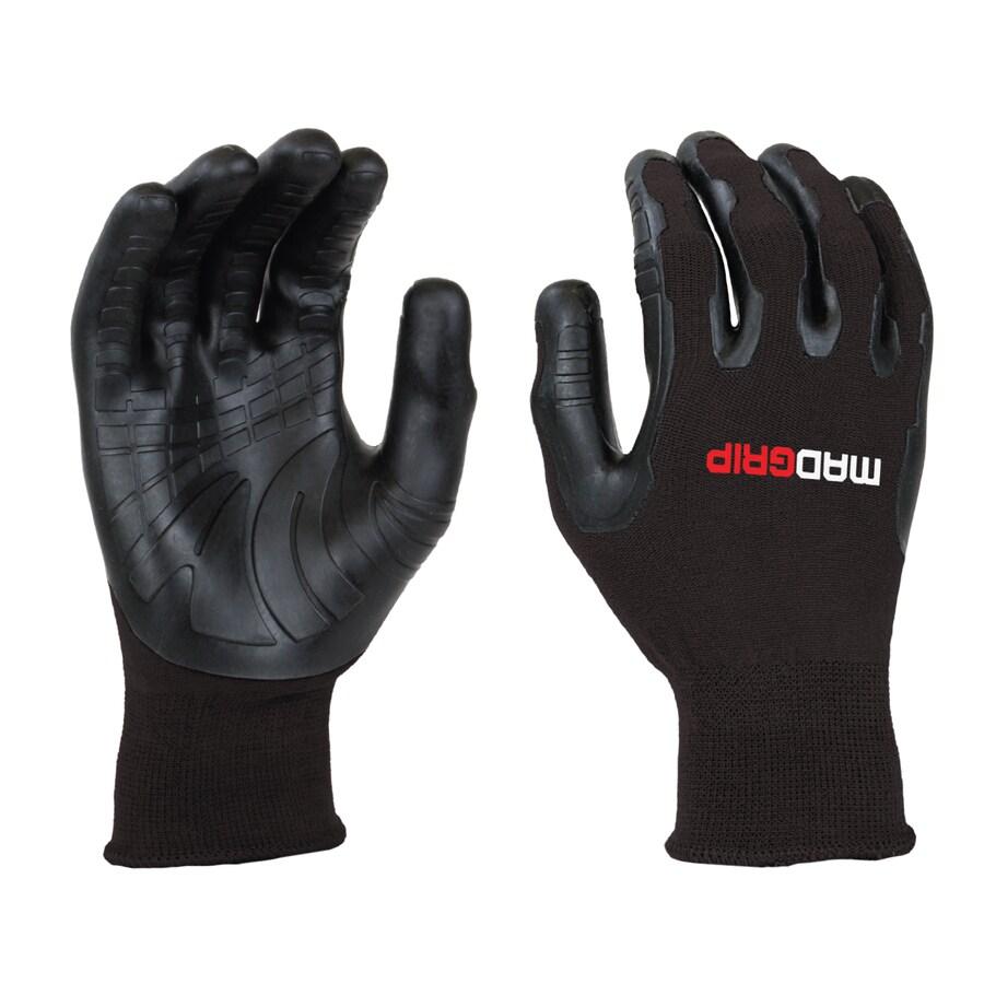 Mad Grip Pro Palm Utility Large Unisex Rubber Multipurpose Gloves
