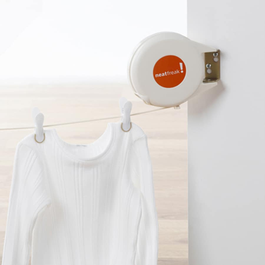 neatfreak! Mixed Material Retractable Clothesline