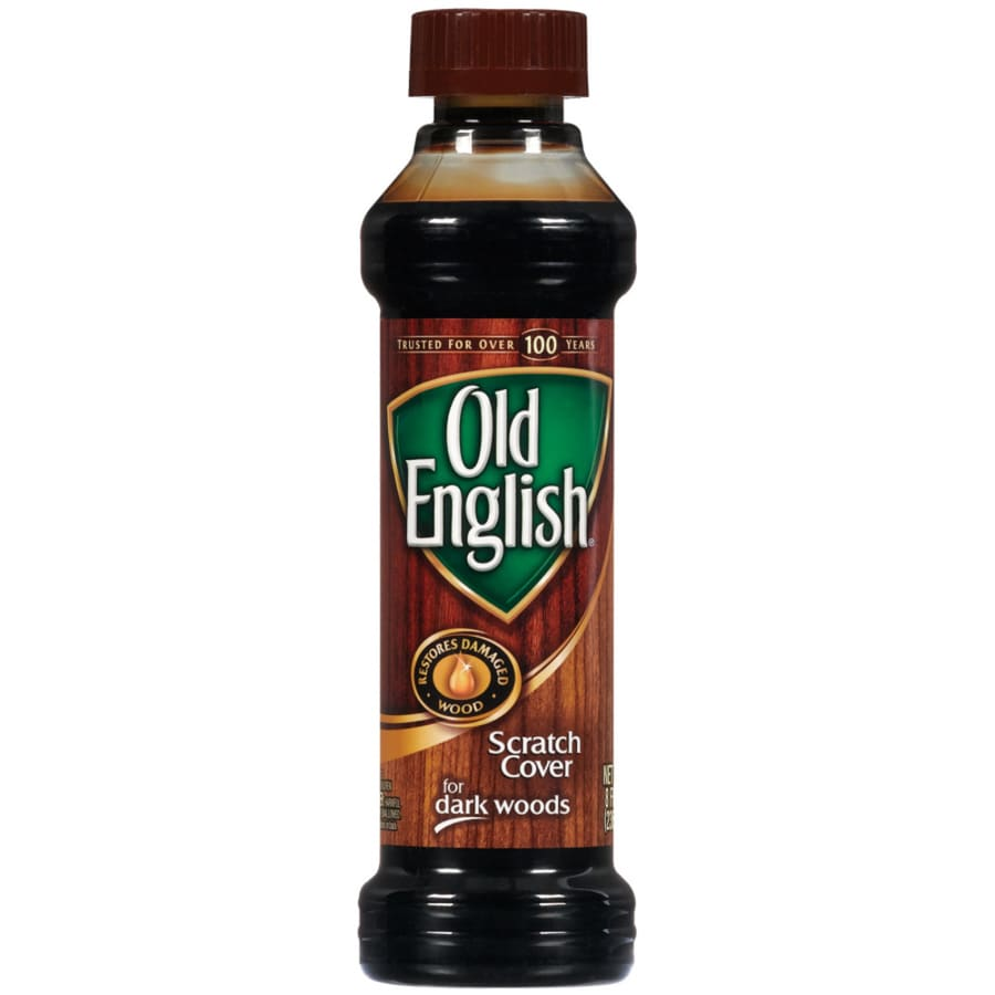 Old English 8-oz Old English Scratch Cover Dark Wood