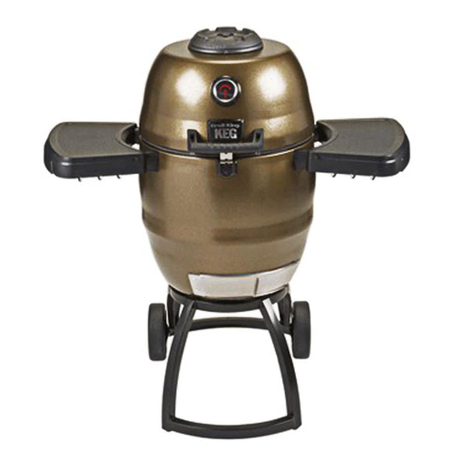Broil King Keg 18.5-in Terra Green Kettle Charcoal Grill