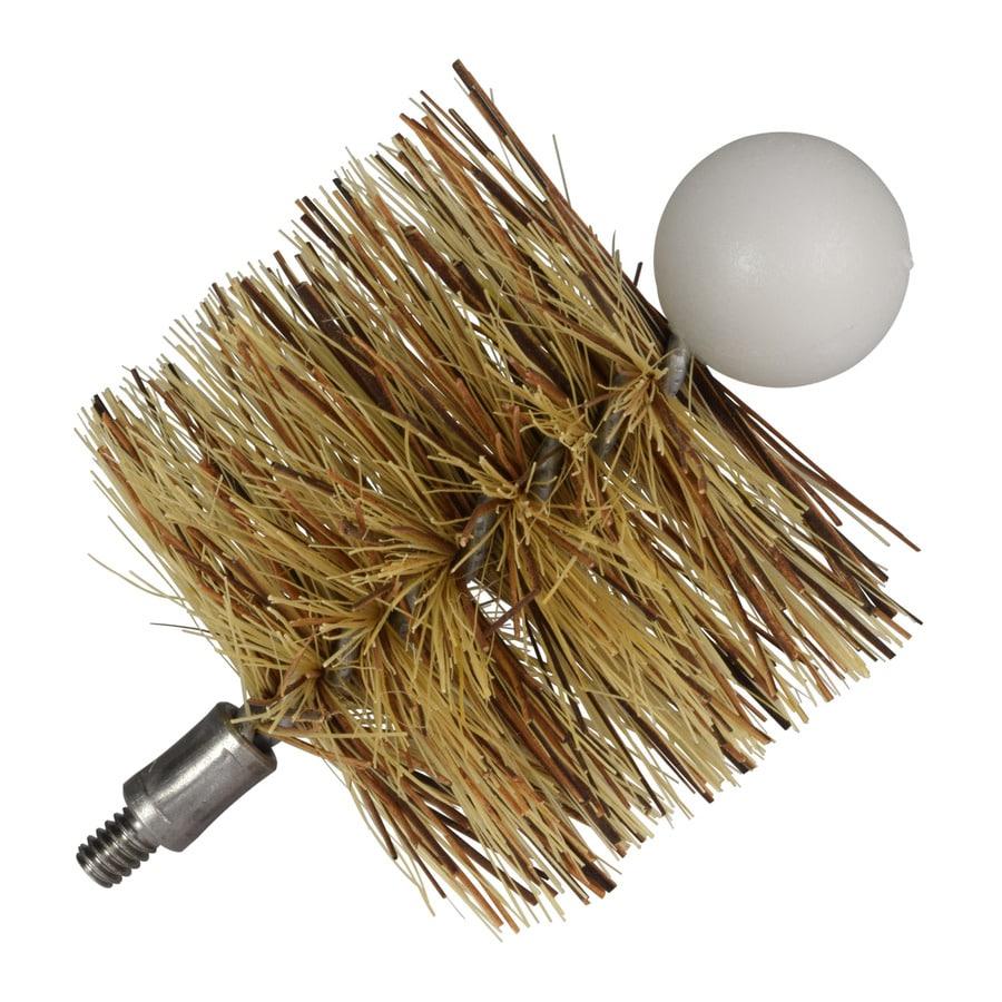 IMPERIAL 3-in x 3-in Fiber Pellet Stove Brush