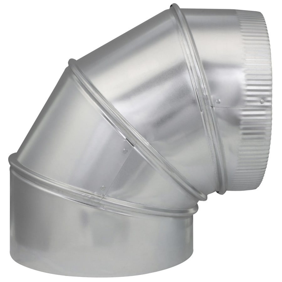 IMPERIAL 10-in x 10-in Galvanized Steel Round Duct Elbow