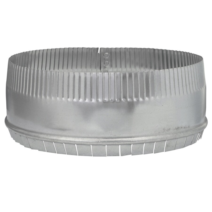 IMPERIAL 10-in Galvanized Steel Round Storm Duct Starting Collar