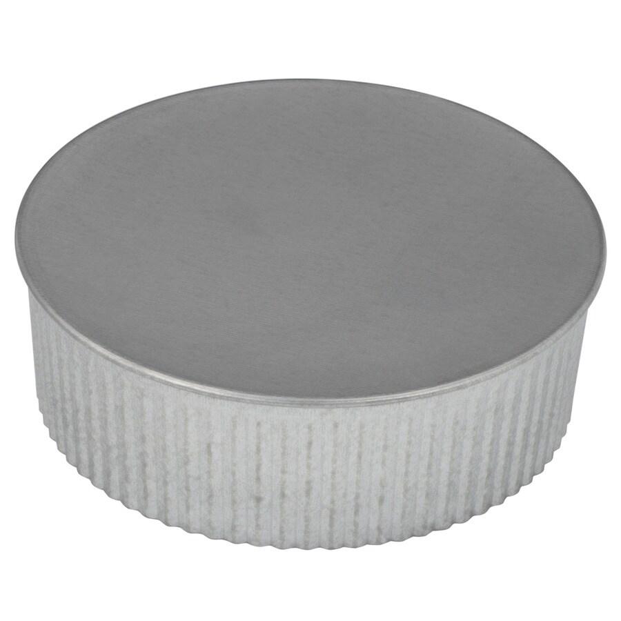 IMPERIAL 6-in dia Galvanized Steel Round End Cap