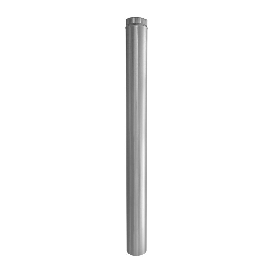 IMPERIAL 5-in x 60-in Galvanized Steel Round Duct Pipe