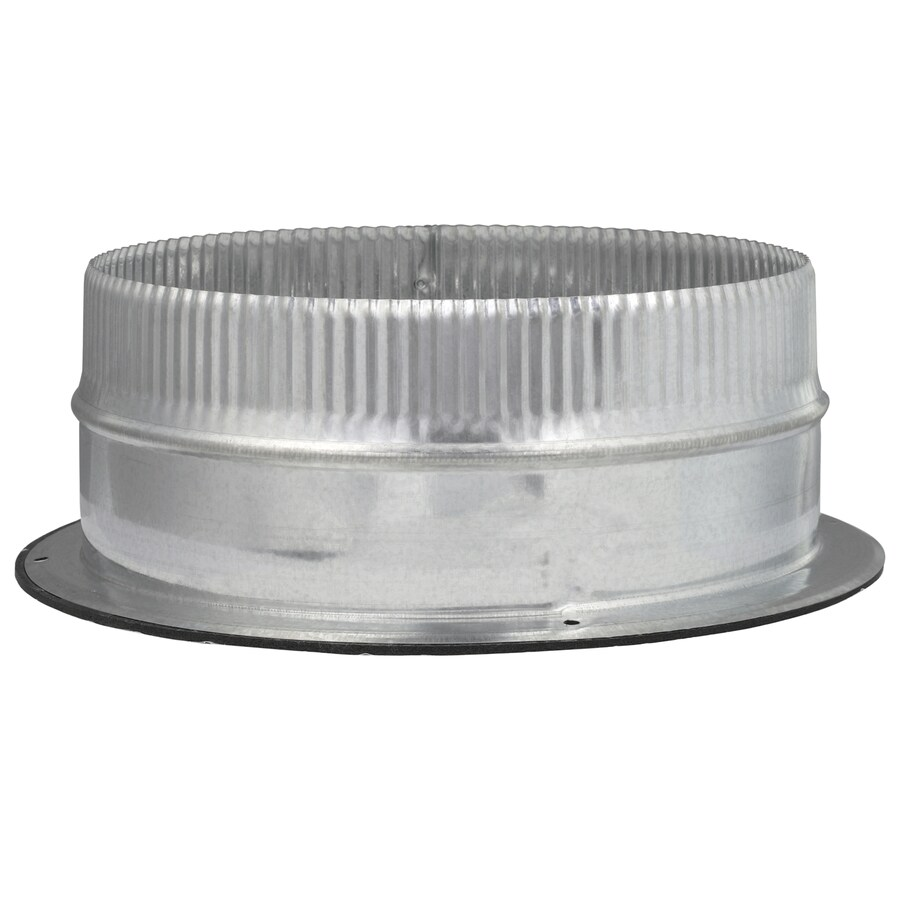 IMPERIAL 10-in Galvanized Steel Airtight Adhesive Duct Take-Off