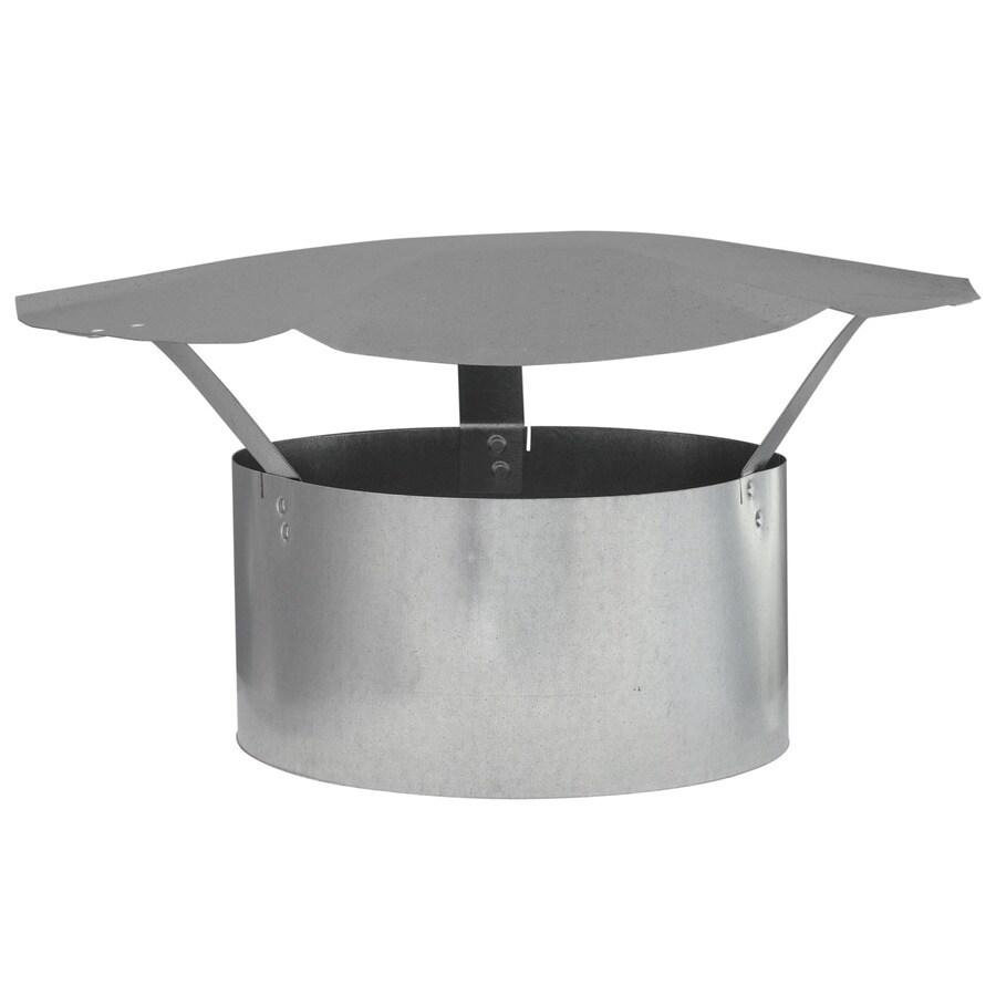 IMPERIAL 8-in Dia Galvanized Steel Rain Cap