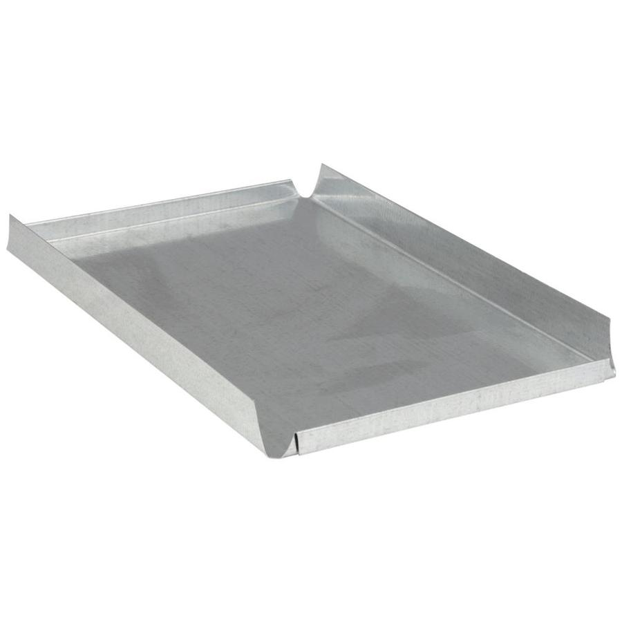 IMPERIAL 12-in x 8-in Galvanized Steel Blind End Cap