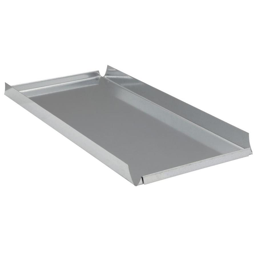 IMPERIAL 16-in x 8-in Galvanized Steel Blind End Cap