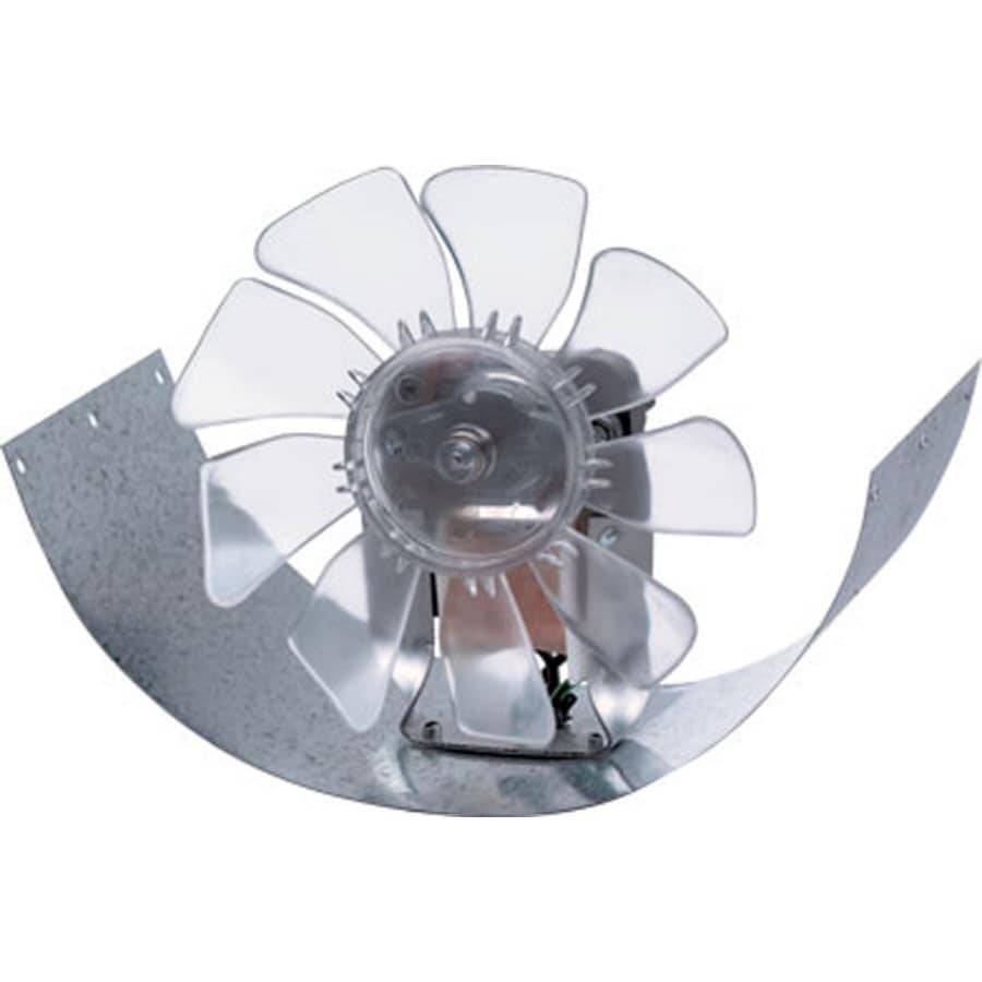 SUNCOURT Inductor In-Line Duct Fan 8-in Dia Galvanized Steel Axial Duct Fan