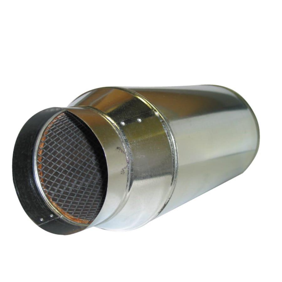 DuctMuffler 6-in x 24-in Galvanized Steel Duct Muffler