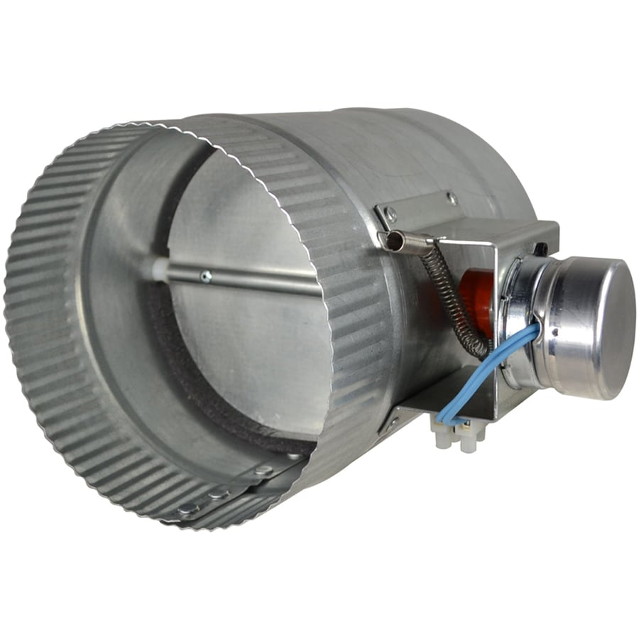ZoneMaster Damper 6-in dia Galvanized Steel Powered