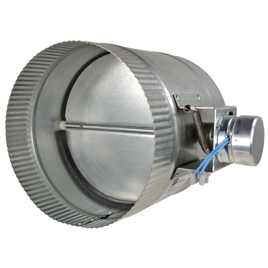 ZoneMaster Damper 8-in dia Galvanized Steel Powered