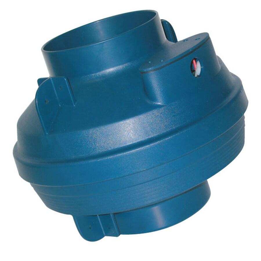 SUNCOURT Centrax Centrifugal Fan 10-in Dia ABS Plastic Centrifugal Duct Fan