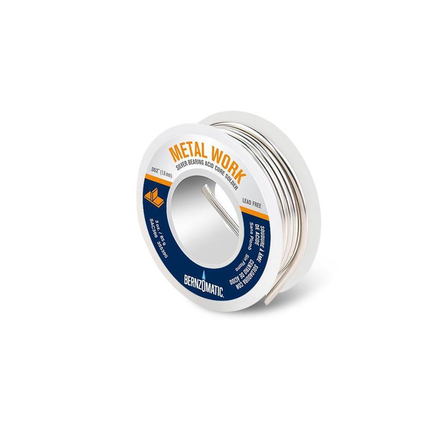 BernzOmatic 3-oz Lead-Free General Metal Solder