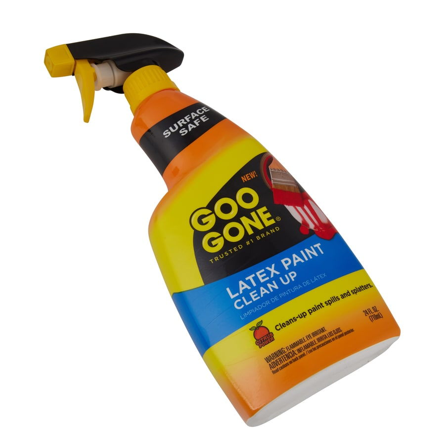 Removal of latex paint