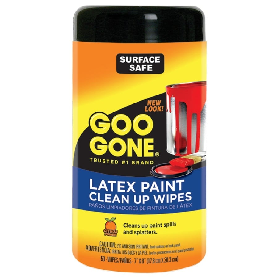 Goo Gone 50 Ct PainterS Clean Up Wipes