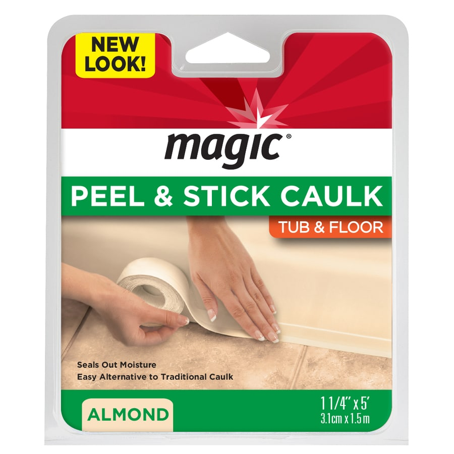 Magic Almond Tubs and Floors Caulk Strip