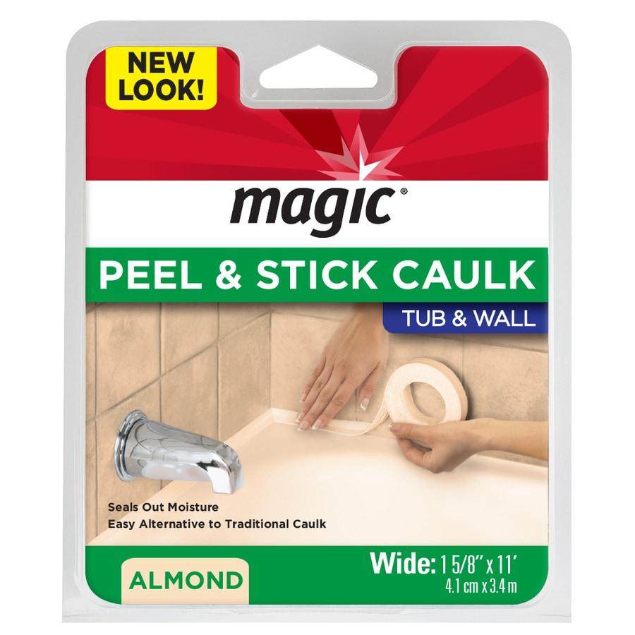 Magic Biscuit Tub and Wall Bathtub Sealer Trim
