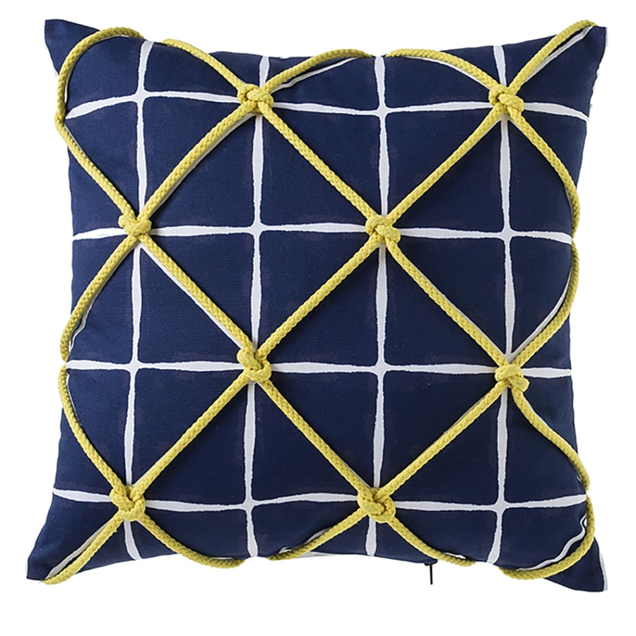 Spaceship Triangle Print by ellegarrettdesigns Geometric Throw Pillow Earth  Triangle 18x18 Square Throw Pillow by Spoonflower