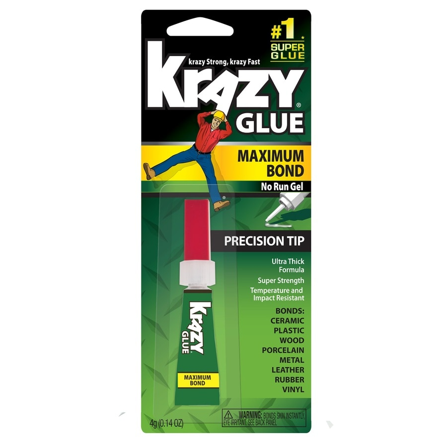 Krazy Glue Maximum Bond Gel Super Glue