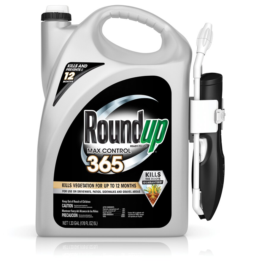 Roundup 1.33-Gallon Ready-to-Use Max Control Vegetation Killer Wand