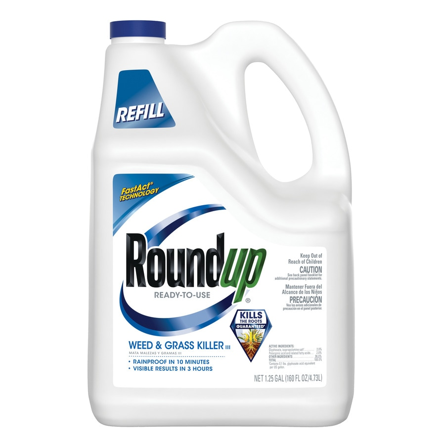 Roundup Ready-to-Use 160-oz Weed and Grass Killer Refill