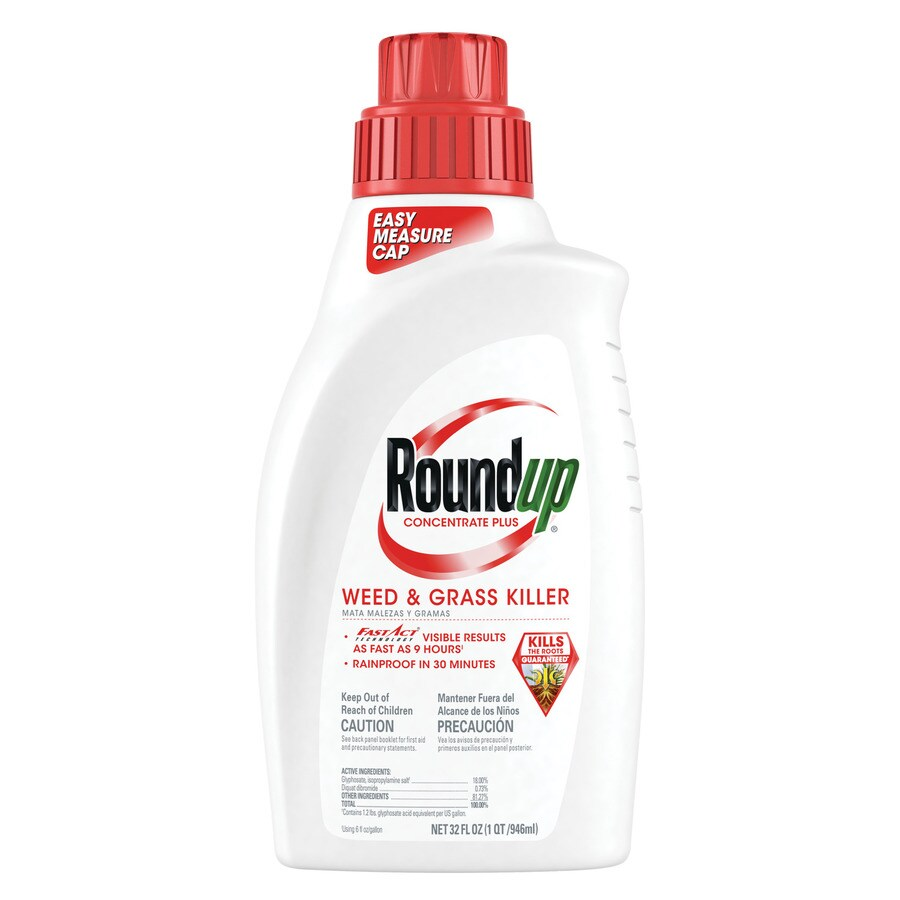 Roundup 32-oz Weed and Grass Killer Concentrate Plus Quart
