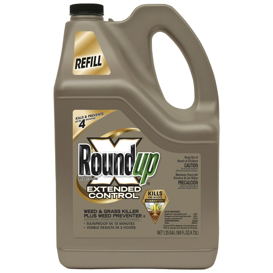 Roundup Extended Control 160-oz Weed and Grass Killer Plus Weed Preventer